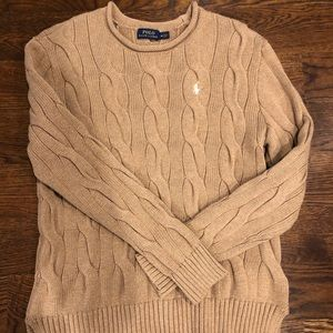 Ralph Lauren women's cable sweater